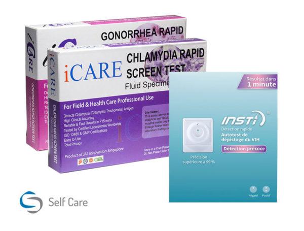 Pieni HIV- ja STD-testi